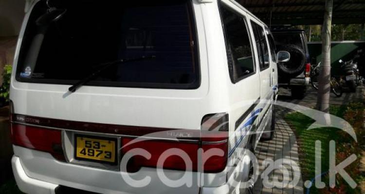 Toyota Dolphin Van-1989