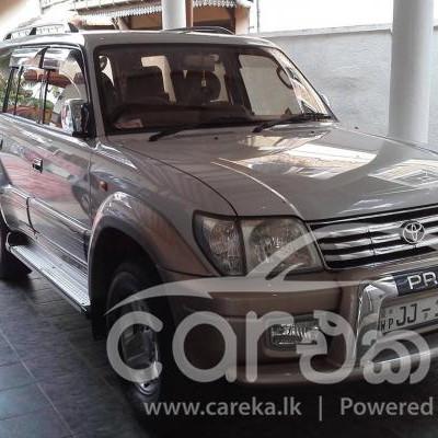 Toyota Land Cruiser Prado jeep 2000