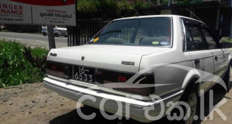 MAZDA 323LX 1989
