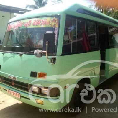 Isuzu Journey L bus 1981 for sale in Ratnapura , Nivitigala