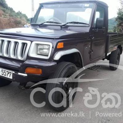 Mahindra bolero maxi truck for sale in Avissawella 2011