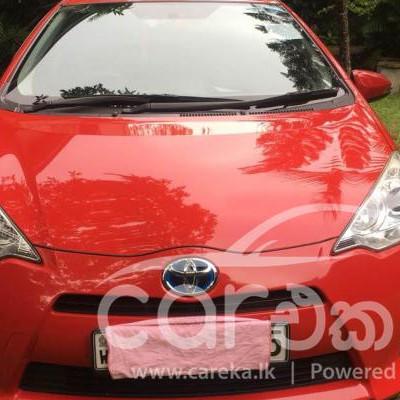 Toyota Aqua S Grade car for sale in Piliyandala