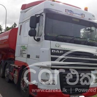 DAF XF bowser truck for sale in Giriulla 2012