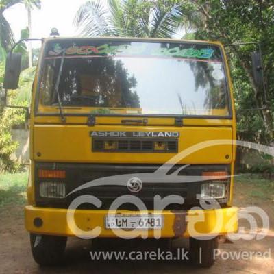 Lanka Ashok Leyland Tipper for sale in Gampaha Balummahara 2016