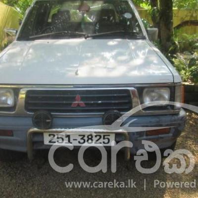 Mitsubishi L200 double cab 1998