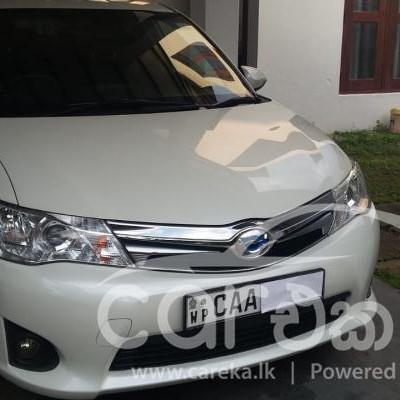 Toyota Axio Hybrid G Grade 2014