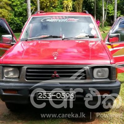 Mitsubishi L200 Double Cab 1999