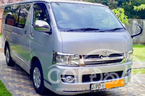 Careka lk - Toyota KDH 200 Super GL 2007