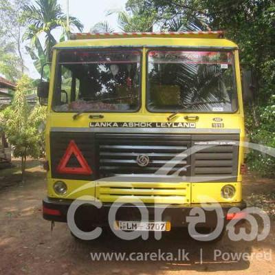 Lanka Ashok Leyland Tipper 2016