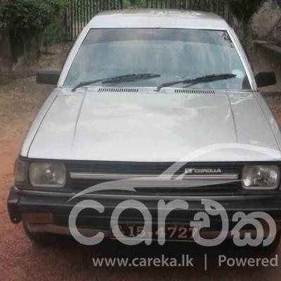 Toyota Corolla Gl Wagon KE73 1985