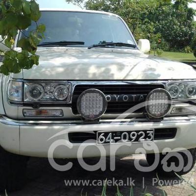 Toyota Land Cruiser Sahara 1992