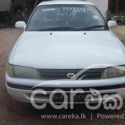 Toyota Corolla CE100 1992