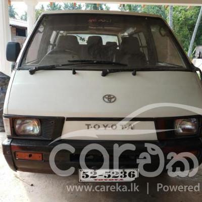 Toyota Townace CR26 1989