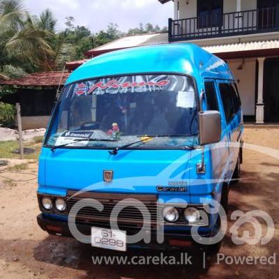 Nissan Caravan VRG 1982