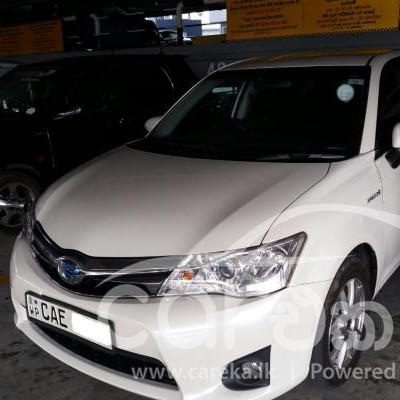 Toyota Axio G grade 2013