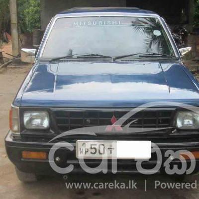 Mitsubishi L200 Double cab 1986