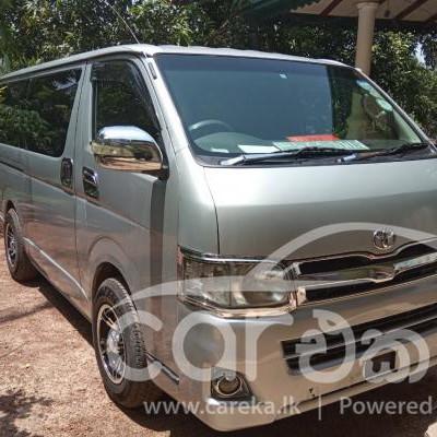 Toyota KDH 201 Hiace GL 2012