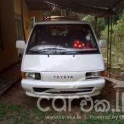TOYOTA TOWNACE CR27 1990